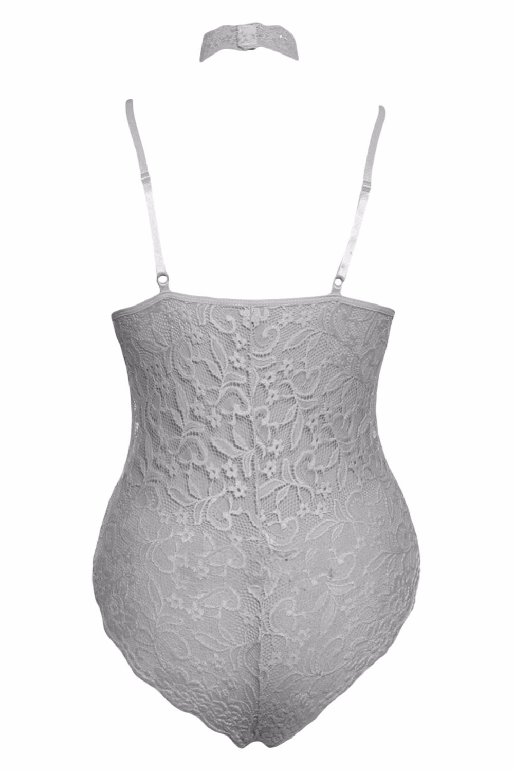 Grey-Sheer-Lace-Choker-Neck-Teddy-Lingerie-LC32139-11-3