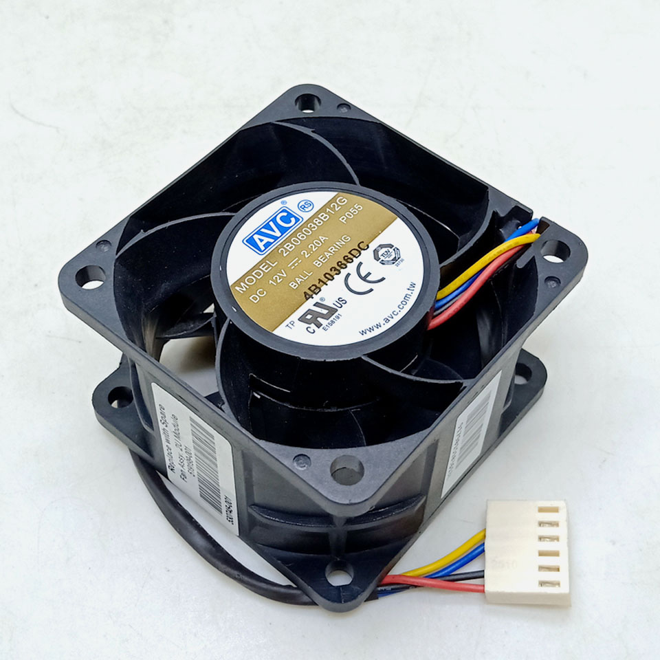 for delta AFB0912SH-A 12V 1.00A 92X92X25MM dual ball bearing 4-wire PWM server axial cooling fan