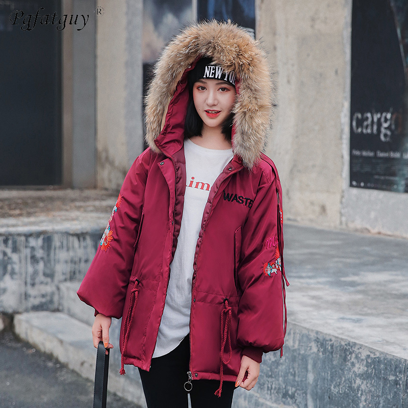 Hooded Winter Down Coat Jacket Long Warm Slim Women Cotton-Padded Feminino Parkas Outwear 8,Beige,XL