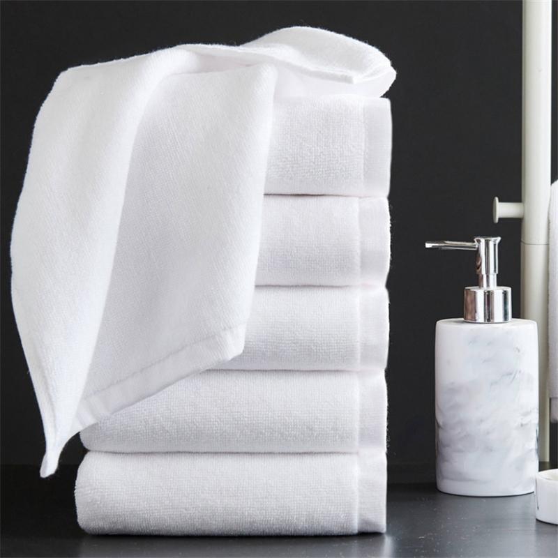 White towel cotton factory wholesale hotel bath towel hotel towel custom logo