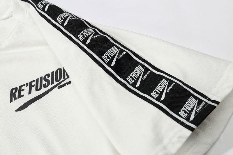 Ribbon Sleeve T-Shirt 11