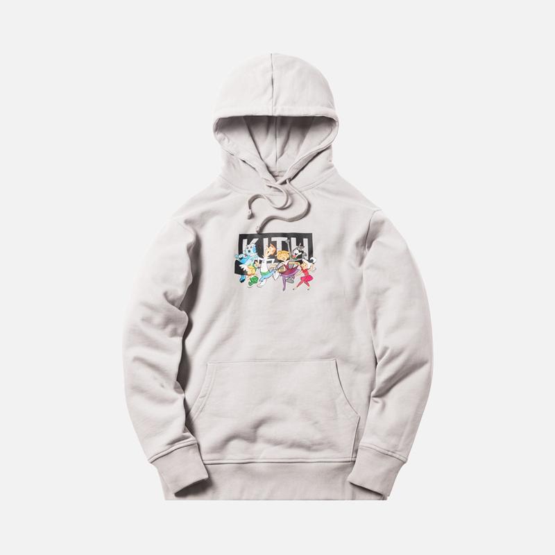Kith Jetsons Family hoodies Men Women kanye west box logo tops hip hop cotton hoody streetwear sweatshirts harajuku winter coat