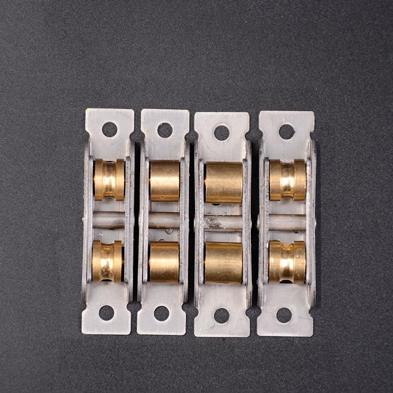 4/x 25/mm antiguo puerta de ducha solo ruedas rodillos corredores poleas parcialidad