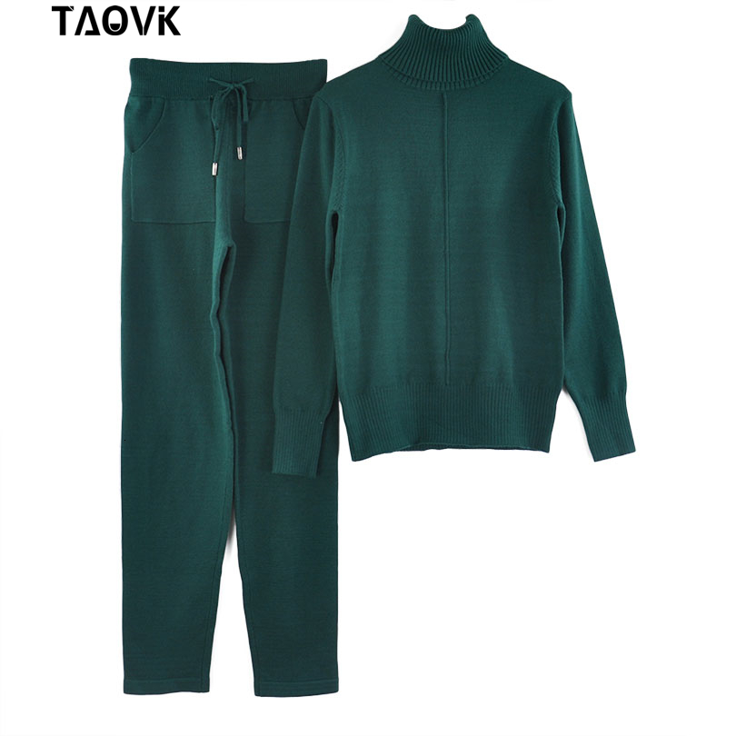 lined knit suit real photo (6)