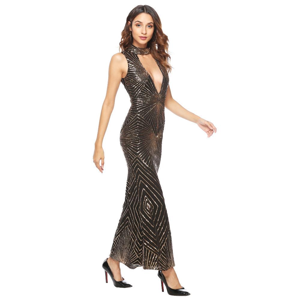 sequin maxi dress 2496 (7)