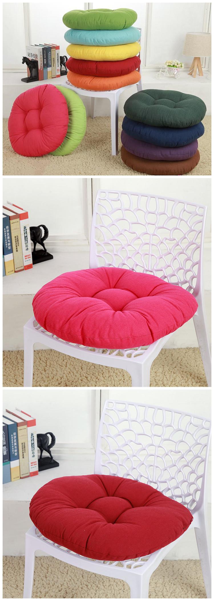 Cuscini Per Pavimento.Acquista Cuscino Di Seduta Rotondo Addensato Cuscino Di Colore