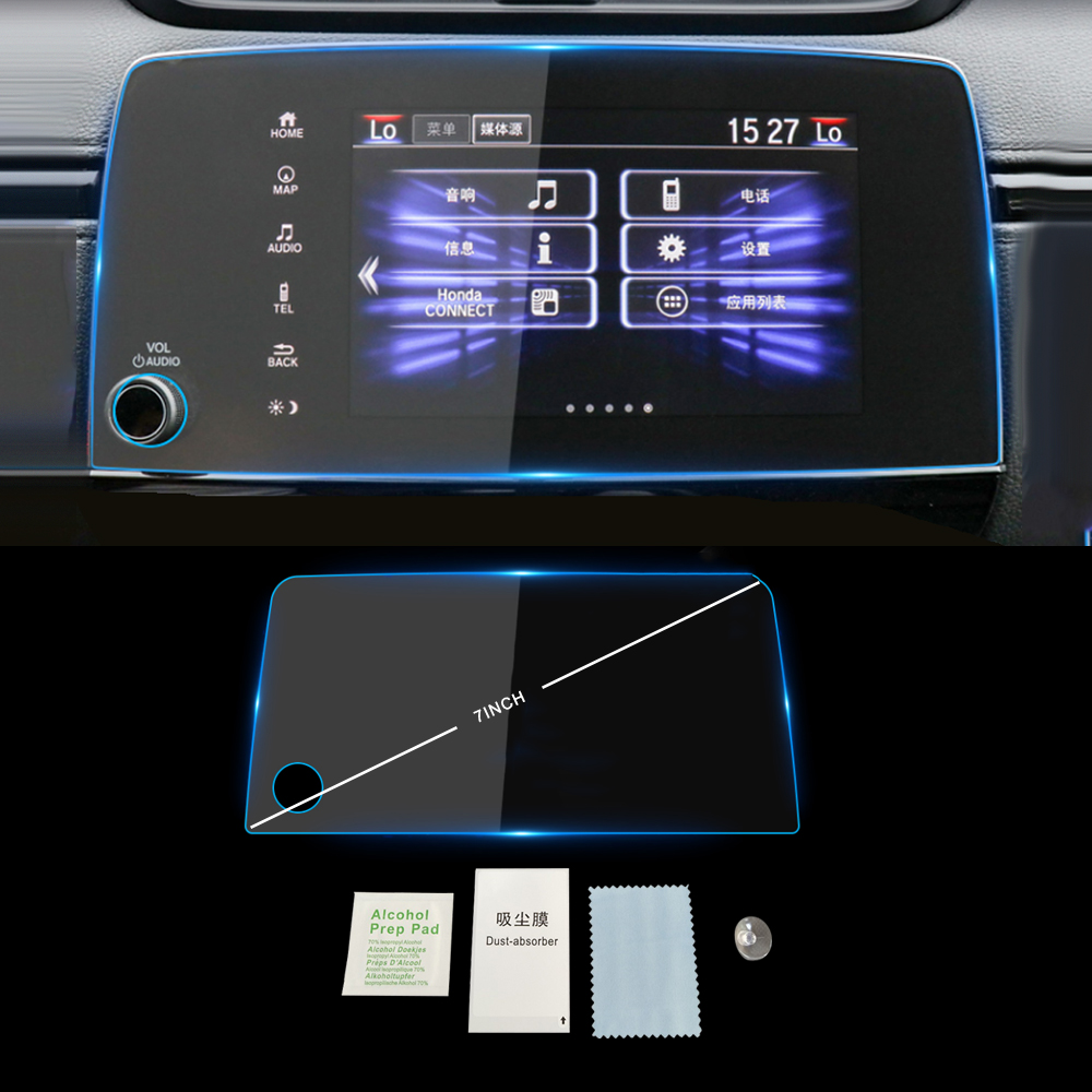 HAILWH Bling Accessories Fit for Honda CRV 2017-2020 Air Conditioner Outlet Ignition Button Rhinestone Decal Cover Sticker Wreath Blue, Ignition Button Ring 1 Piece//Set