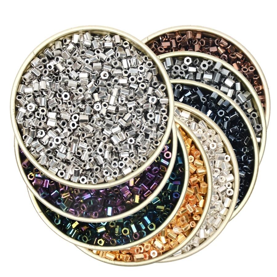 3000 verre opaque perles de rocaille taille 11//0 2 mm 50 g Pour Bijoux Acheter 4 Pour 3