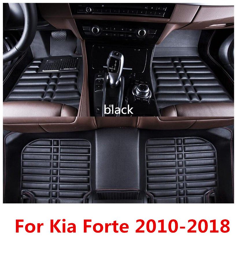 Suitable For Kia Forte 2010 2017 Car Floor Mats Before And After