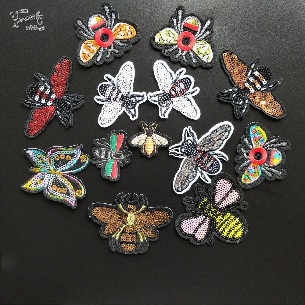 Dragonfly patch Insectes Animal Brodé fer sur ou Coudre sur Patch Bricolage