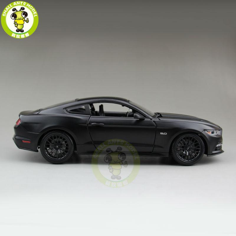 2015 Mustang Gt Diecast Black