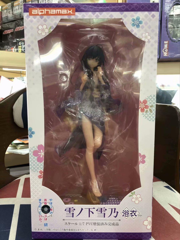 Yukinoshita Yukino anime model figure My youth romantic comedy is wrong as I expected kimono Ver. sexy dolls figurine (4)