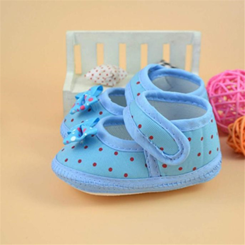 Fashion Baby Girl First Walker Kids Bowknot Boots Soft Crib Shoes NDA84L16 (5)