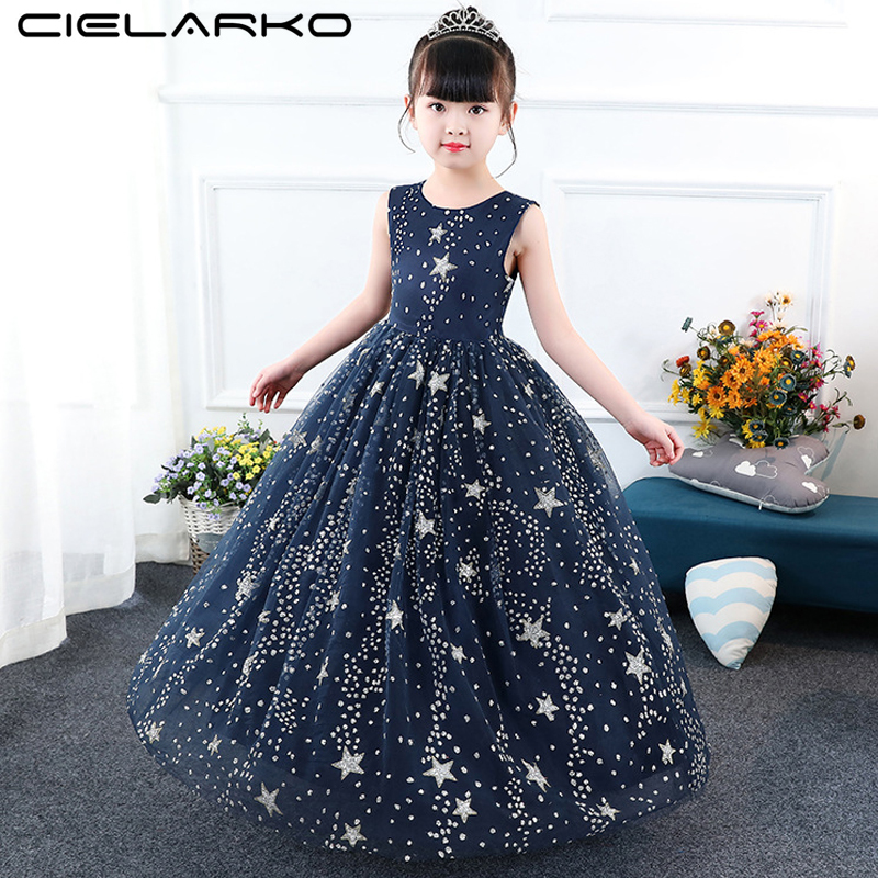 Girl/'s pretty flowers print princess dress beautiful Bohemia beach dress 3-13Y