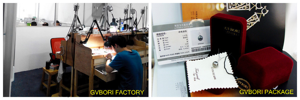 gvbori pearl factory and package with card