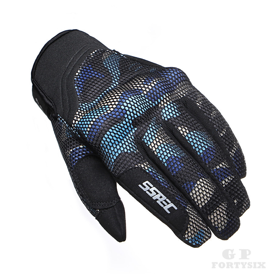 Summer Full Finger Cycling Gloves Motorcycle Breathable Mesh Riding Safety MTB BMX Wearable Mountain bike gloves Hiking Sports Gloves XXL