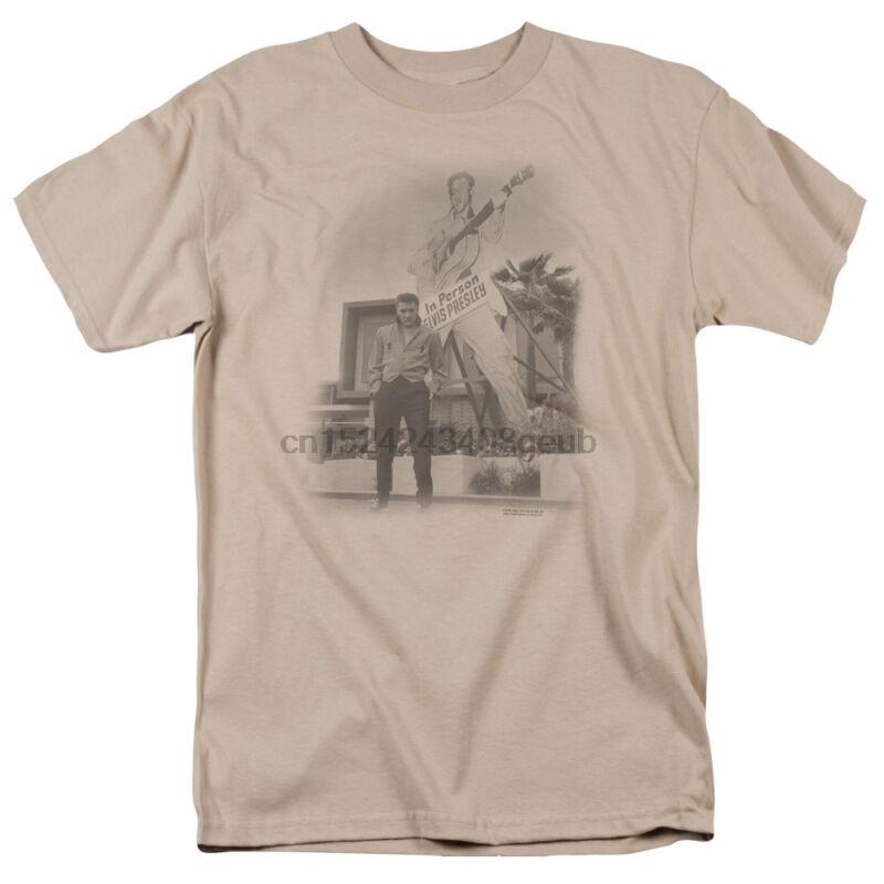 Elvis Presley LARGER THAN LIFE Licensed Adult T-Shirt All Sizes