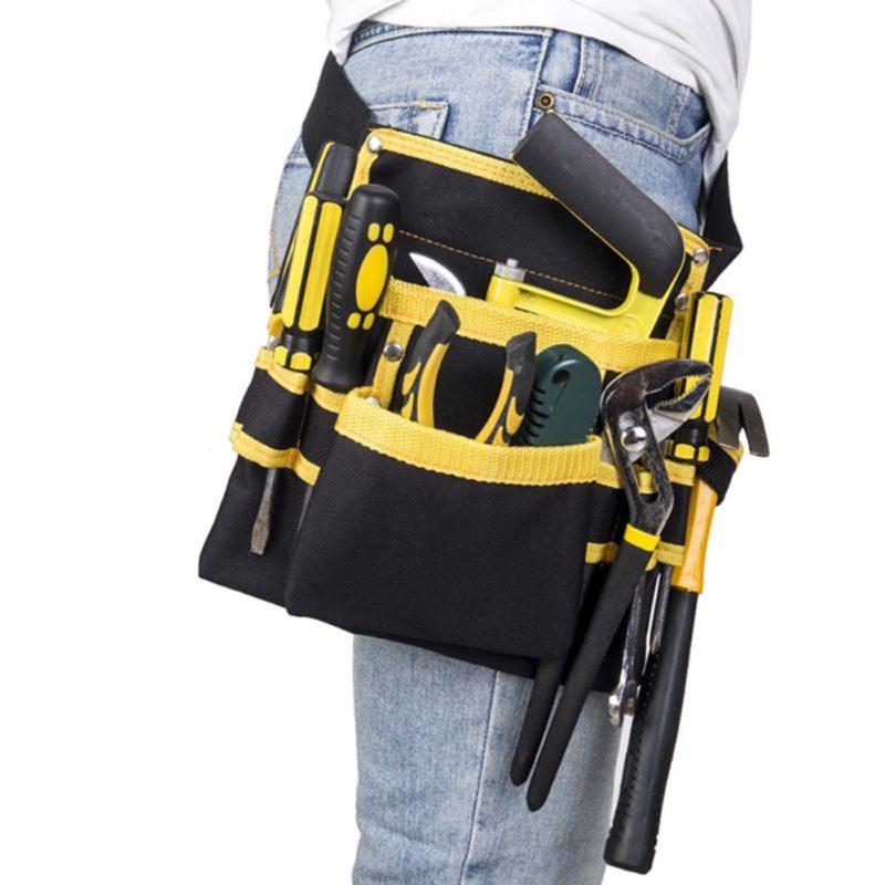 Electricista Mantenimiento Bolsa de almacenamiento de herramientas Utilidad Pr/áctica bolsa de trabajo titular Bolsa de herramientas
