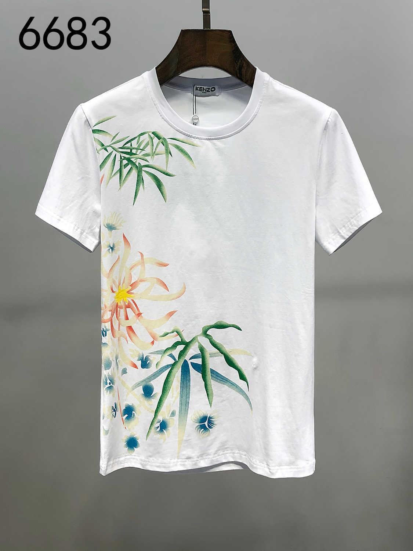 2020 Nouvelle arrivée Conception originale des hommes et des femmes T-shirts manches courtes en coton pur T-shirt d'impression exquis haute qualité Tops