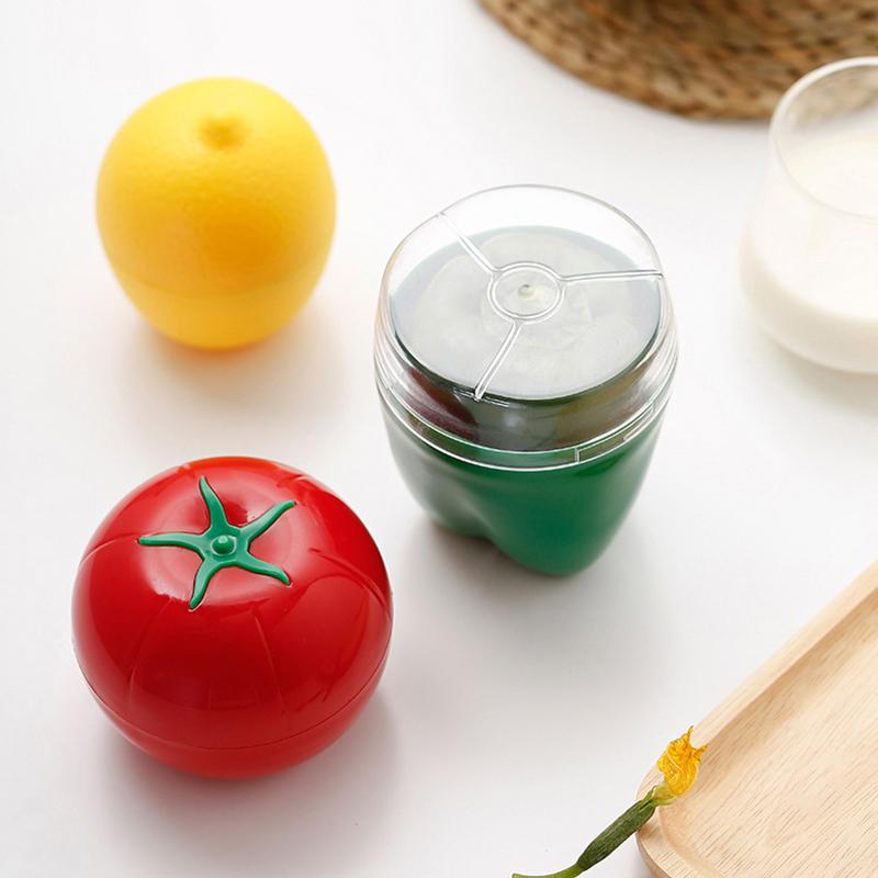 Neue heiße nette küche gemüse obst klassifiziert crisper lebensmittelbehälter zwiebel lemon tomaten grüner pfeffer geformt kunststoff frische aufbewahrungsbox