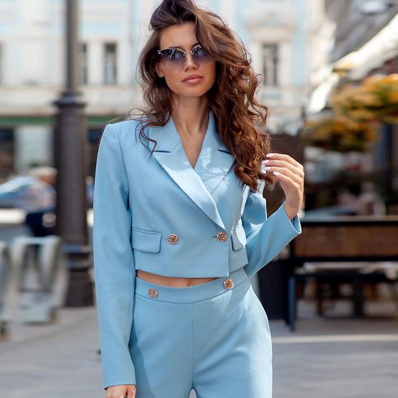 Escudo suelta Mujer Otoño 201992282 botón de inclinación de la hebilla collar traje puro del ombligo color Exposed