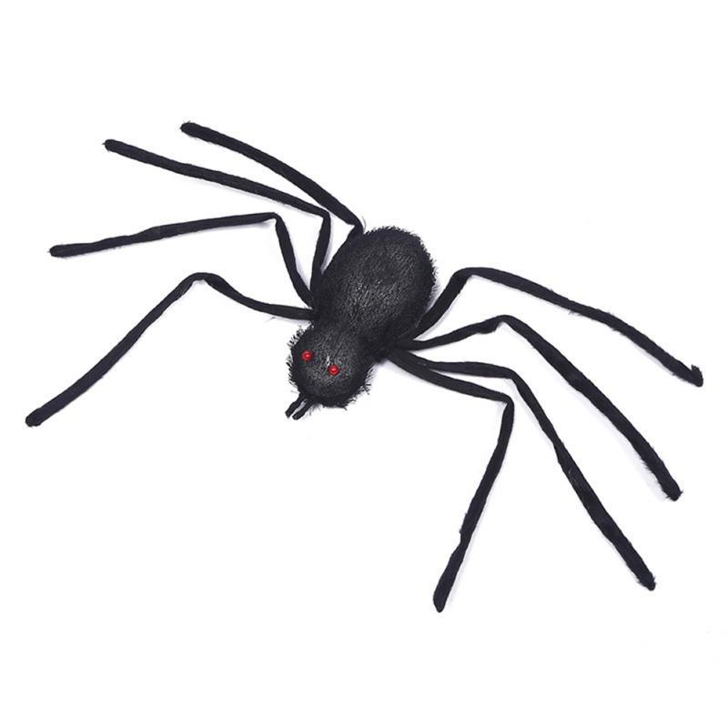 New Arrival Super Real Simulation Personality Spider Black Plush Random Color