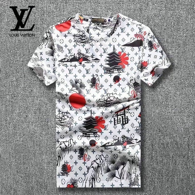 Summer Short Sleeve T-shirt Man Korean Edition Trend Slim designer luxury T-shirts Bottoming Teenagers Clothes