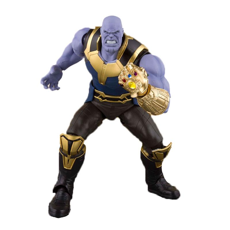 SHF Marvel Avengers Endgame 7 inch Thanos PVC Action Figure Toy