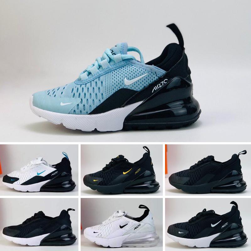 Nike air max 270 27c Nouvelle Chaussures De Course Infant Run chaussures de créateurs Chaussures de sport pour enfants en plein air luxry Tennis