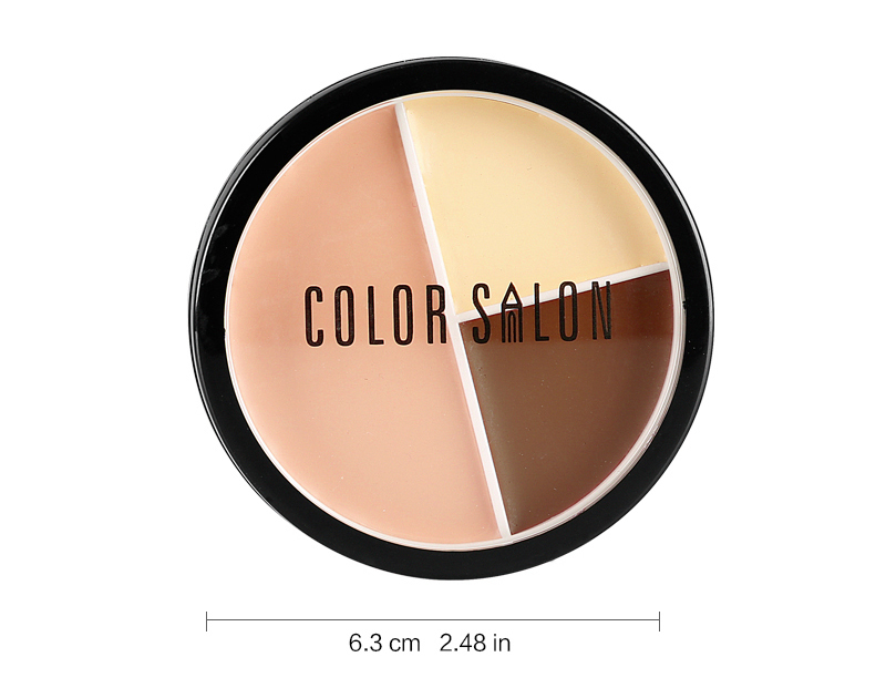 HUAMIANLI Freckle Removing Concealer Makeup For Face Foundation Cover Acne Waterproof