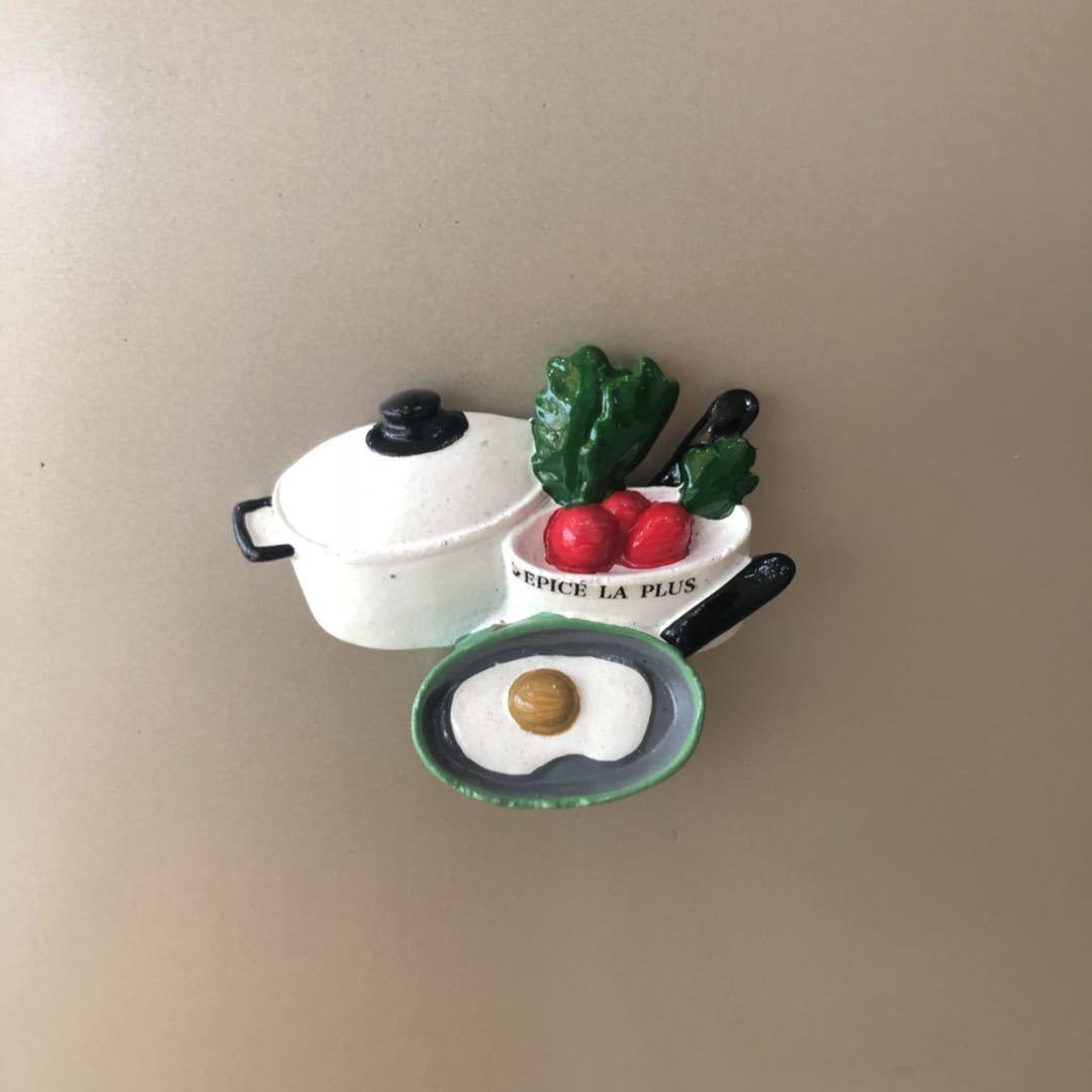 Creative Fridge Magnets Simulation Cute Egg Poached Eggs 5d Fridge Sticker  Resin Craft Fefrigerator Stickers For Home Decoration Fridge Magnets Custom
