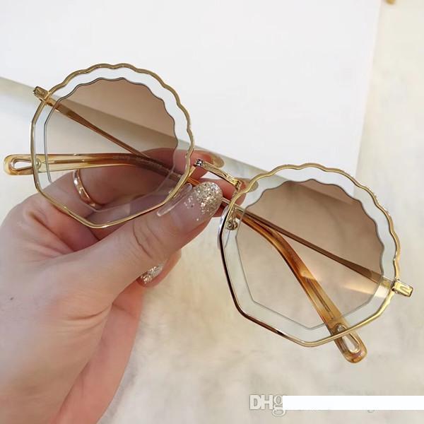 Wsunglass New irregular metallic hollowing Sunglasses/_1