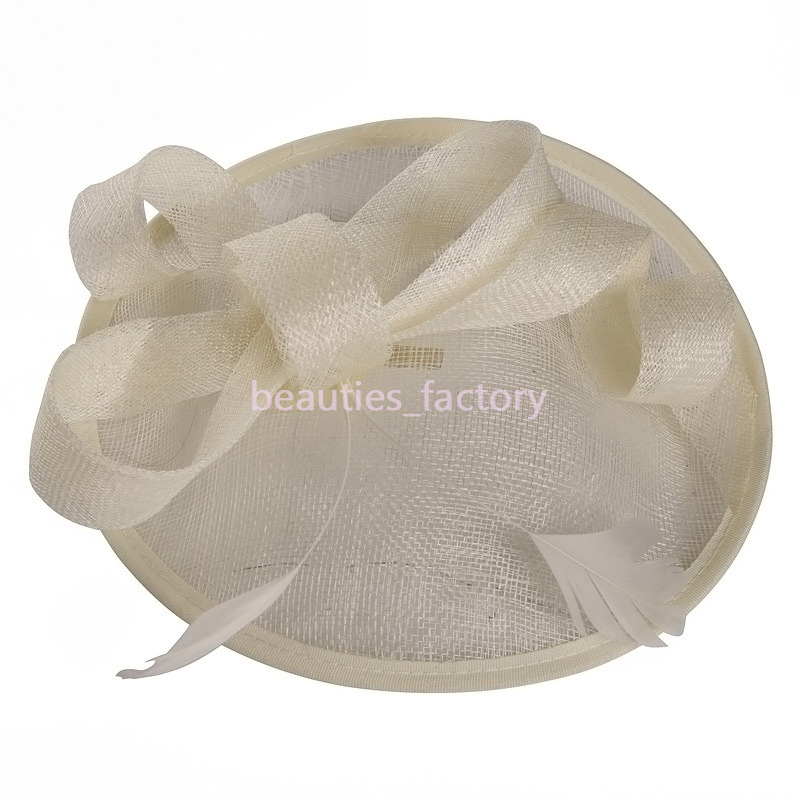Bridal Veil Birdcage Flower Feathers Comb Blush Tulle Bride Wedding Hats Face Topknot Veils Hots Hat Multi Colors B-5640