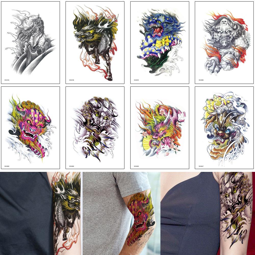 Dragon Chino Tattoo 3d