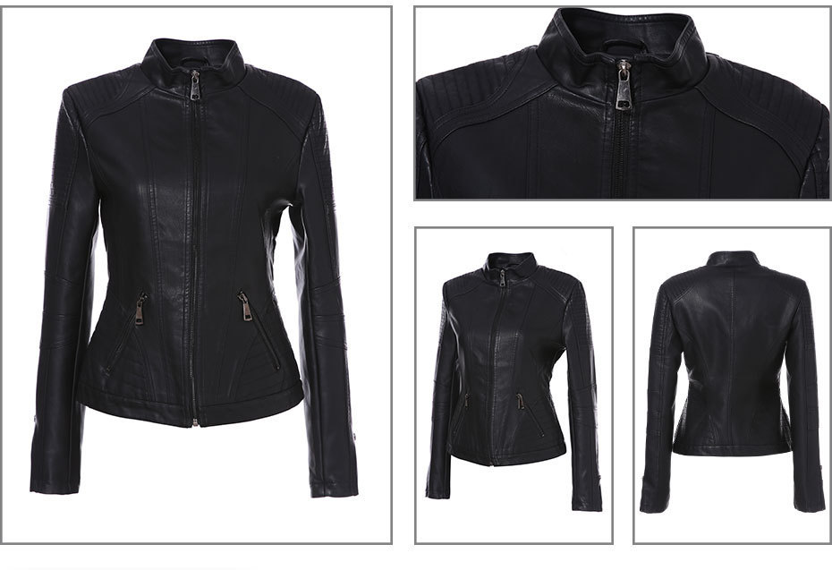Brand Leather Jacket (3)