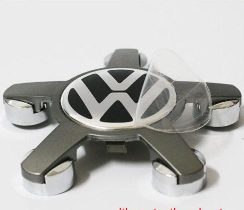 4x 60 mm ajusta a Audi Rueda Pegatinas centro Insignia Centro recorte CAP HUB ALEACIÓN au