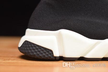 Unisexe chaussures de sport à prix réduits chaussette chaussures épaisse semelle en caoutchouc mousse légère durable chaussette flexible maille supérieure eu 36-46