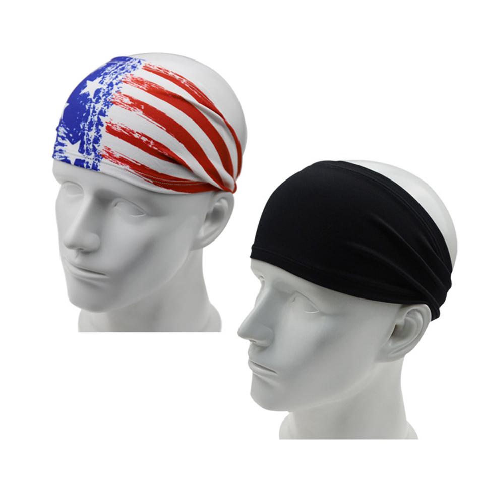 Sport Scarf Headbands Balaclava Soccer Ball and Denmark Flag for Yoga Hiking Riding Motorcycling