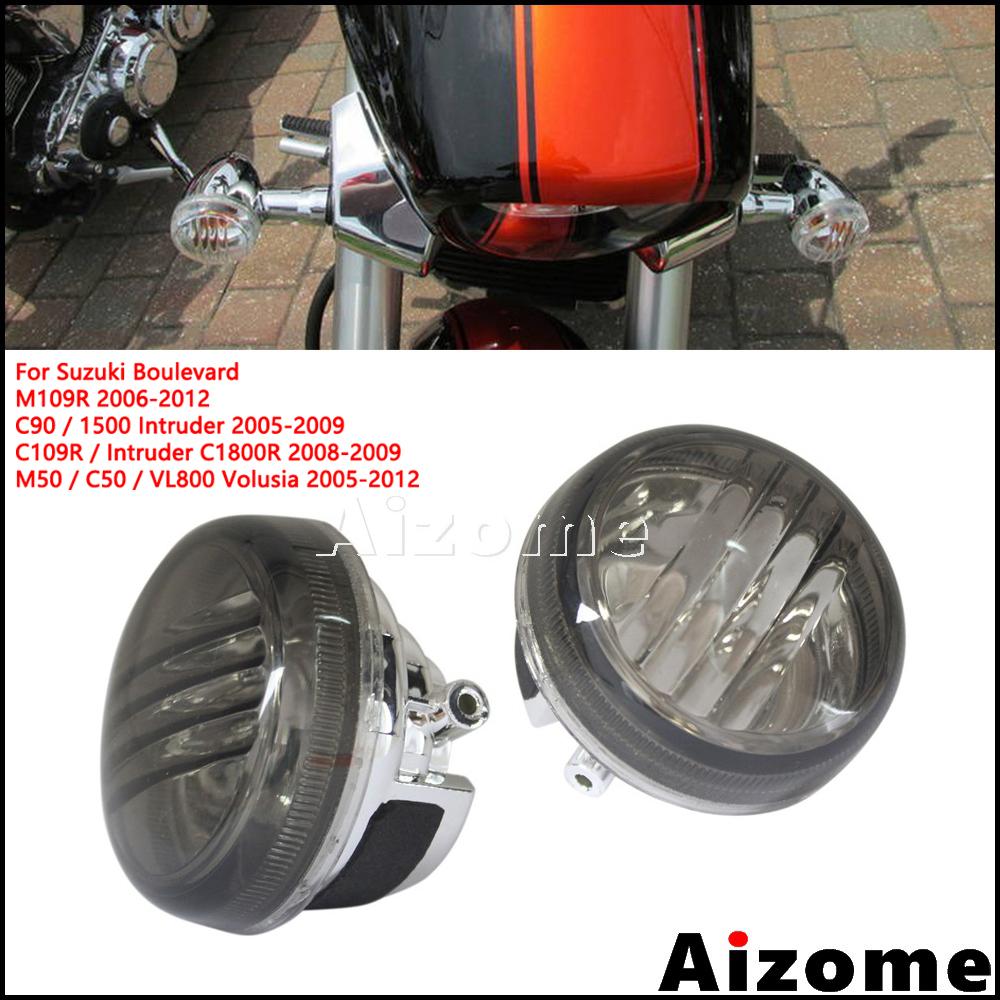 4X Kawasaki ZR1100 ZRX1200 ZR750 ZR7S Turn Signal Indicator Blinker Lenses Smoke
