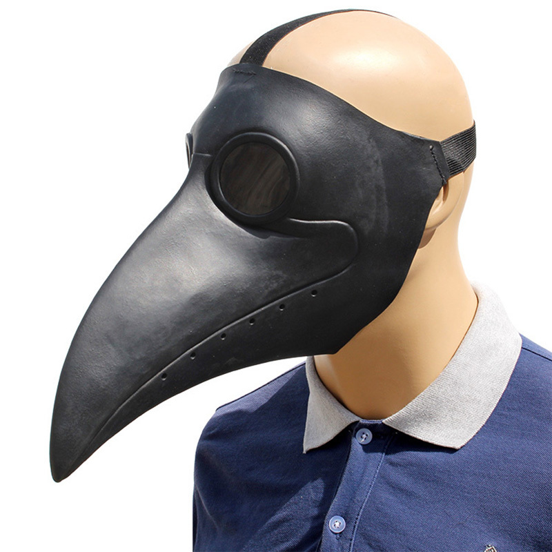 Adulto Halloween BIRD IN LATTICE Mezza Maschera Costume Accessorio