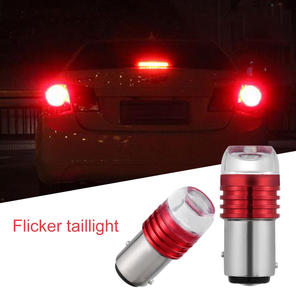 2pc 80W White LED Reverse Backup Light Bulbs For Jeep Wrangler JK 2007-2016
