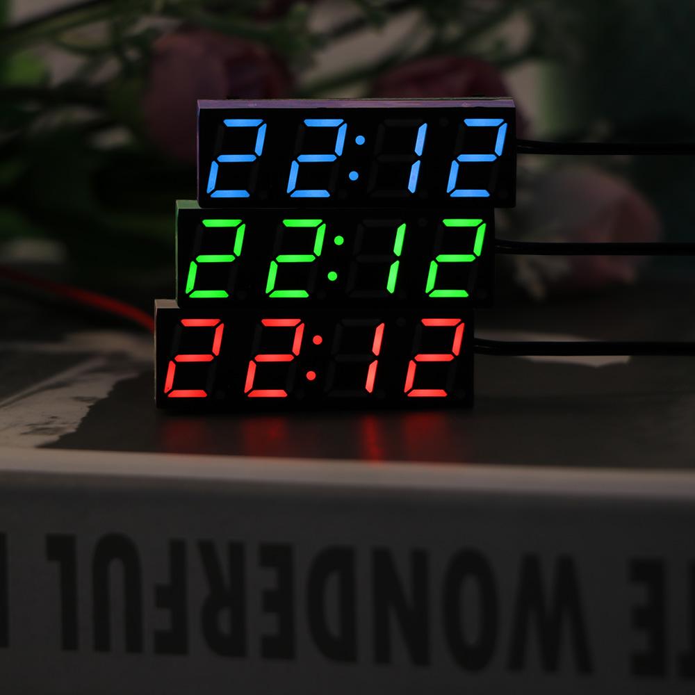2018 numérique grande LCD Auto Voiture Camion tableau de bord date heure calendrier horloge