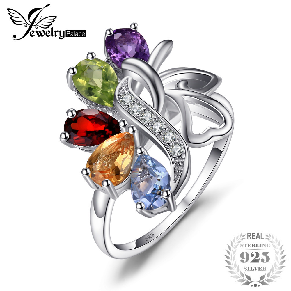 Crystalcraftindia natural peridot Jewelry Rings size 6 US 1.79 gms 925 Sterling Silver