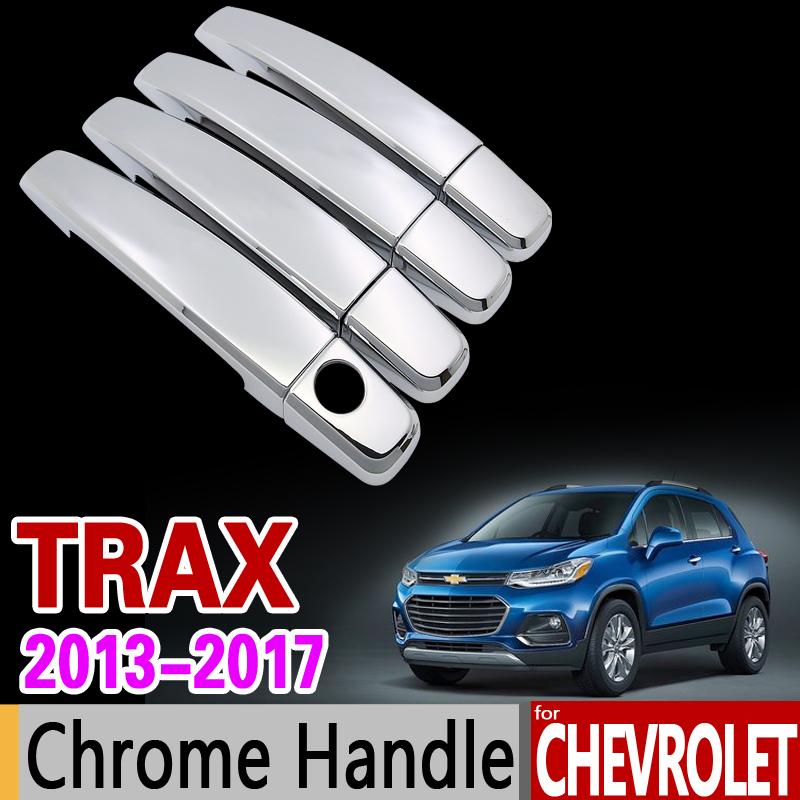 Chrome Front Rear Corner Bumper Cover For Chevrolet Trax Tracker 2014 2015 2016