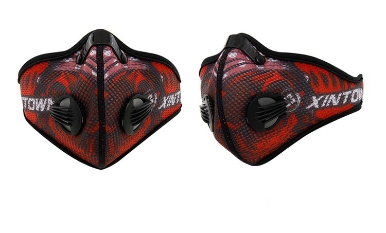 ciclismo face mask -