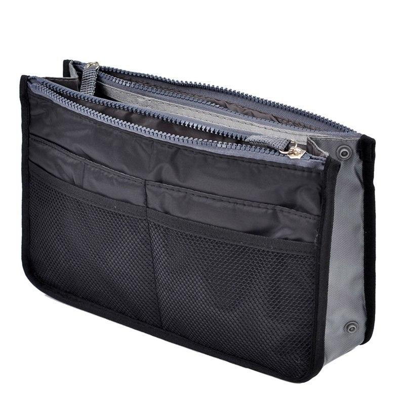 Women Fashion Bag In Bag Cosmetic Organiser Makeup Casual Travel Handbag Portable Handbag Cosmetics Suitcase Pouch Z35