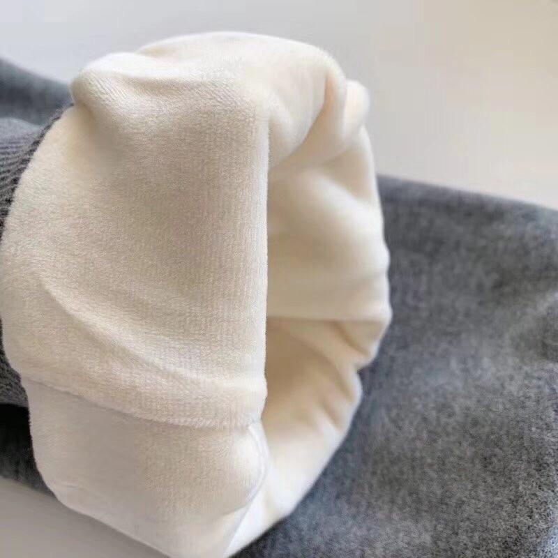 Adi thick cotton pants, cotton fabric is super soft inside! Warm and stylish