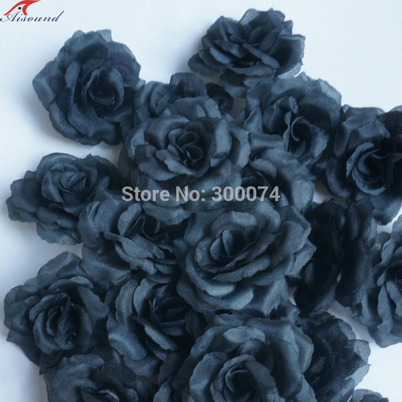 Black rose wedding supplies flowers