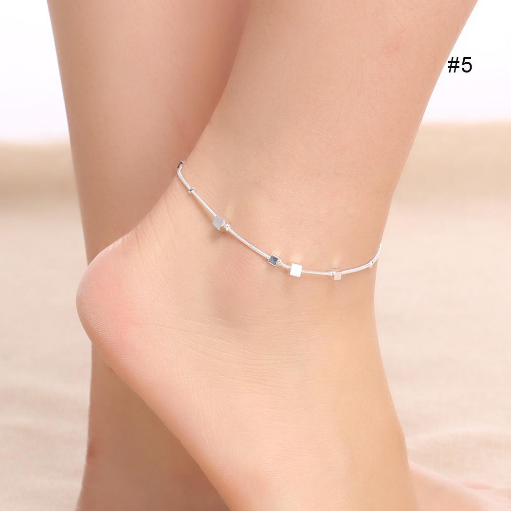 Neue neue Frauen-Kettenfußkettchen-Armband-Barfuß-Sandelholz-Strand-Fuß-Fußkettchen Neue Schmuck-Uhren