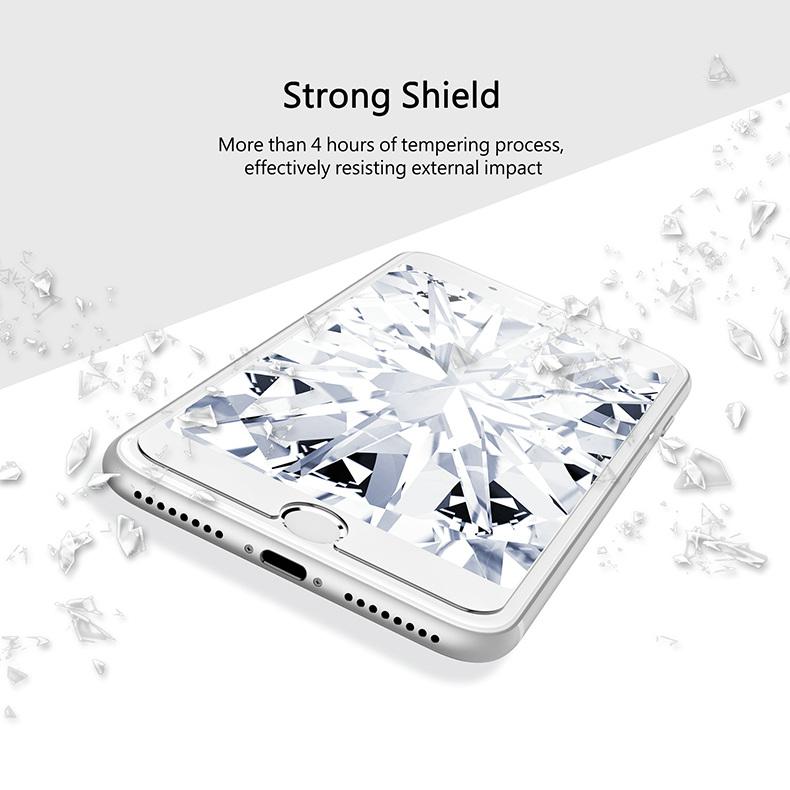 KINGXBAR for iPhone Xs Max Glass Full Protection for iPhone Xs Tempered Glass Screen Protector for iPhone Xs Max Protector Film (4)